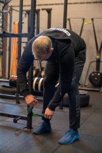 Squat mobility routine ankle stretch