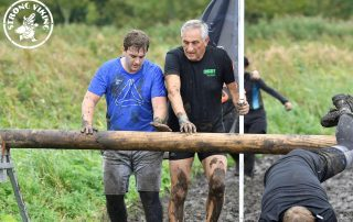 Strong Viking obstacle run